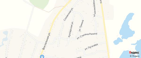 Куллярская улица на карте Красногорского поселка с номерами домов