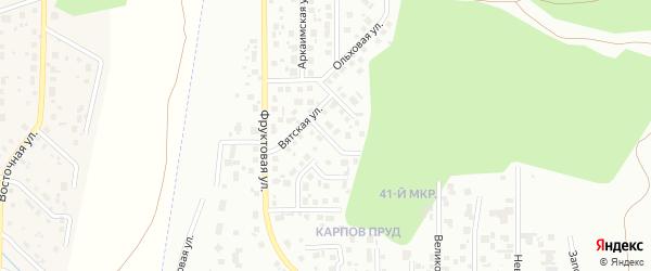 Холмогорская улица на карте Челябинска с номерами домов