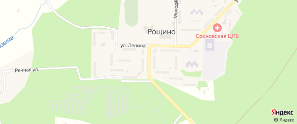 Фабричная улица на карте Челябинска с номерами домов
