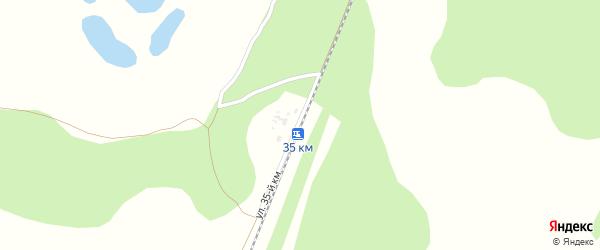 Улица 35 км на карте поселка Саксана разъезда с номерами домов