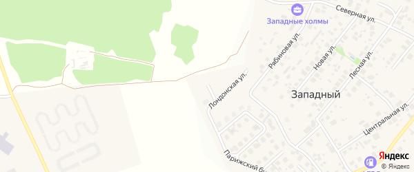 Площадь Венеции на карте Западного поселка с номерами домов