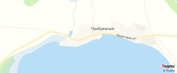 Карта Прибрежного поселка в Челябинской области с улицами и номерами домов