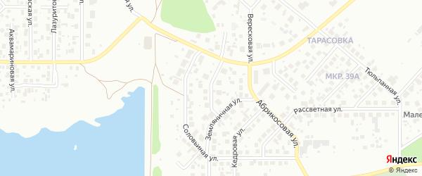 Раздольная улица на карте Челябинска с номерами домов