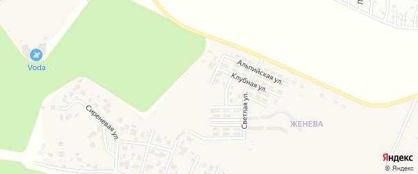 Улица Согласия (мкр Женева) на карте Западного поселка с номерами домов