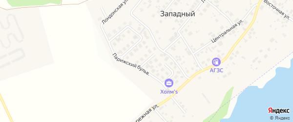 Улица Венская (мкр Холмс) на карте Западного поселка с номерами домов