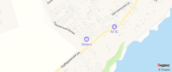 Улица Пражская (мкр Холмс) на карте Западного поселка с номерами домов