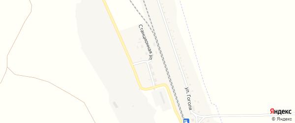 Станционная улица на карте Красногорского поселка с номерами домов