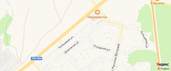 Дорожная улица на карте Южноуральска с номерами домов