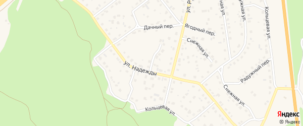 Улица Владислава Филатова на карте Южноуральска с номерами домов