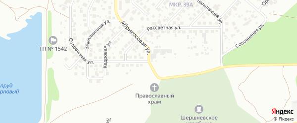 Соловьиная улица на карте Челябинска с номерами домов