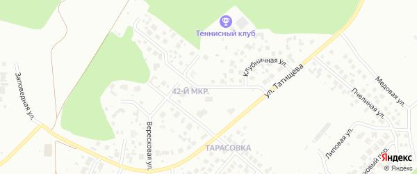 Песочная улица на карте Челябинска с номерами домов