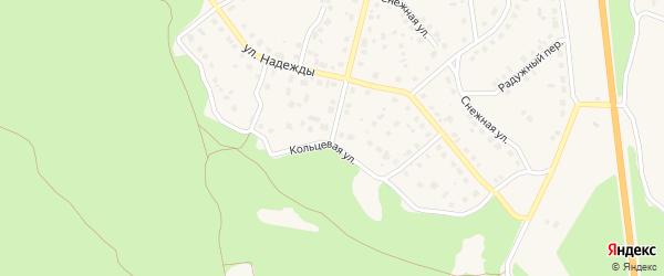Кольцевая улица на карте Южноуральска с номерами домов
