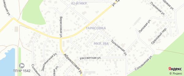 Малахитовая улица на карте Челябинска с номерами домов