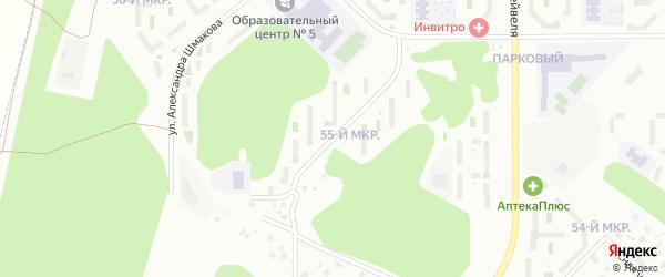 Габдуллы Тукая улица на карте Челябинска с номерами домов