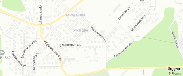 Кленовая улица на карте Челябинска с номерами домов