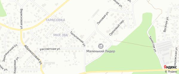 Липовая улица на карте Челябинска с номерами домов