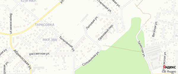Короткий переулок на карте Челябинска с номерами домов