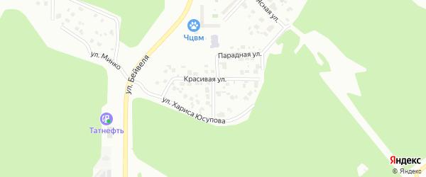 Добрая улица на карте Челябинска с номерами домов