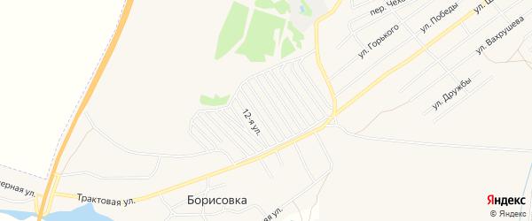 Сад Колосок на карте Еманжелинска с номерами домов