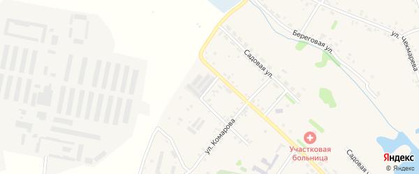 Полевая улица на карте села Еманжелинки с номерами домов