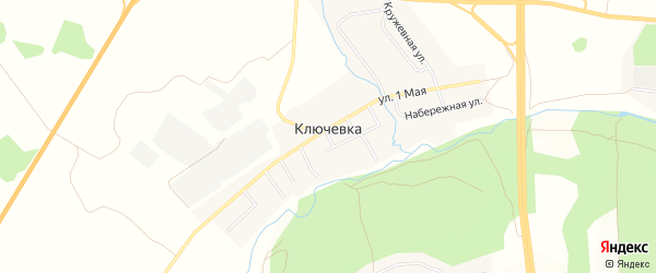 Карта деревни Ключевки в Челябинской области с улицами и номерами домов