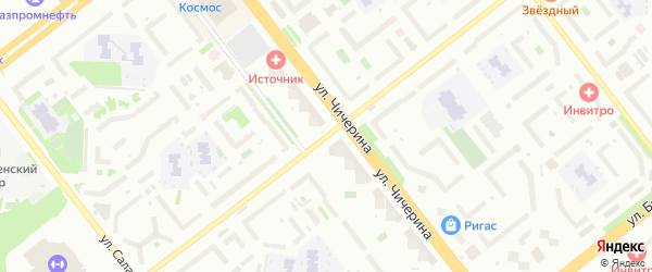 Улица 250-летия Челябинска на карте Челябинска с номерами домов