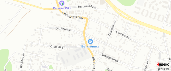 Улица Ленина на карте Челябинска с номерами домов