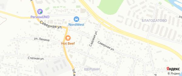 Северная улица на карте Челябинска с номерами домов