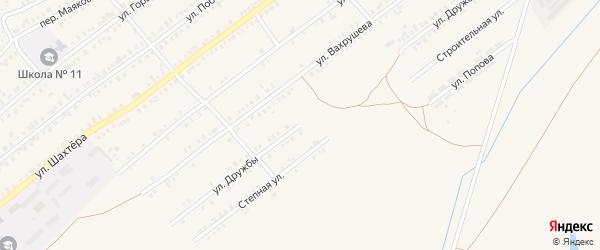 Улица Дружбы на карте Еманжелинска с номерами домов
