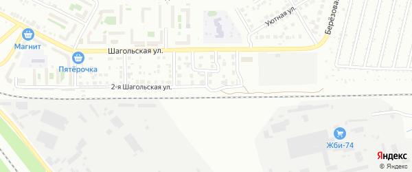 Коралловая улица на карте Челябинска с номерами домов