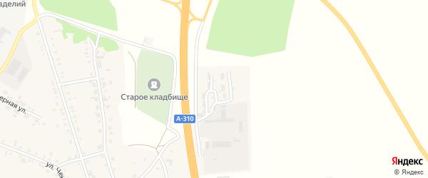 Дорожная улица на карте села Еманжелинки с номерами домов