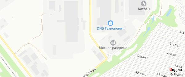 Верстовая улица на карте Челябинска с номерами домов