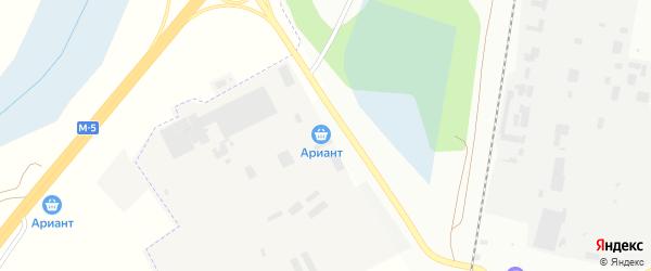 Территория ГСК 211 по ул Блюхера на карте Челябинска с номерами домов