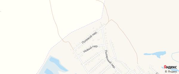 Полевой переулок на карте деревни Кораблево Селезянского СП с номерами домов