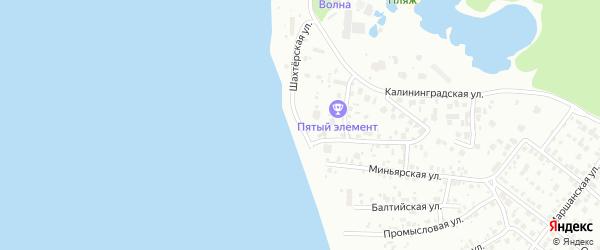 Шахтостроевский 2-й переулок на карте Челябинска с номерами домов
