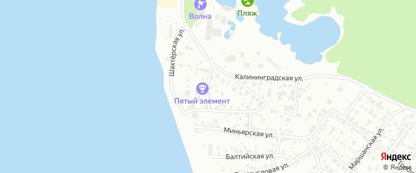 Шахтостроевский 1-й переулок на карте Челябинска с номерами домов