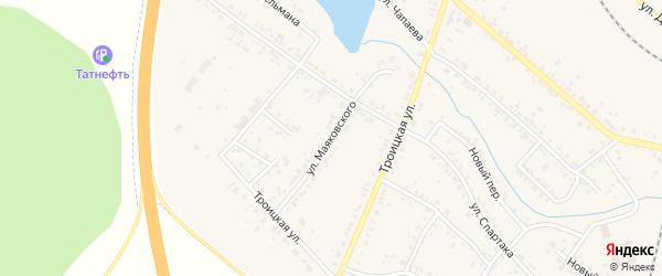 Улица Маяковского на карте Коркино с номерами домов