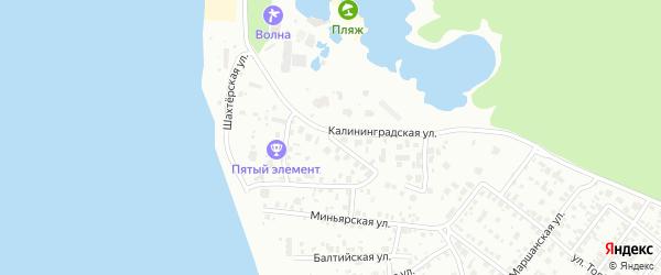 Шахтостроевская улица на карте Челябинска с номерами домов