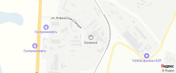 Улица Калинов двор на карте Челябинска с номерами домов