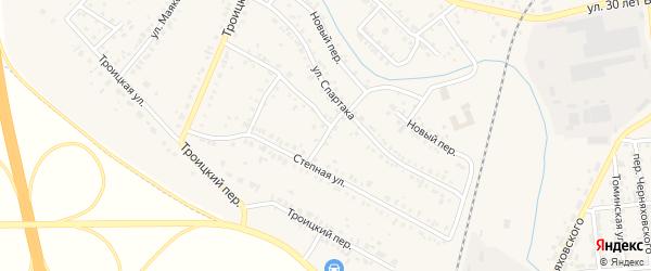 Улица Богдана Хмельницкого на карте Коркино с номерами домов