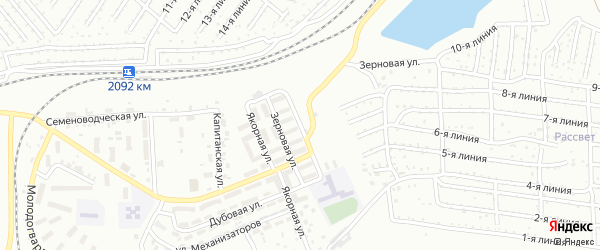 Улица Нефтяников на карте Челябинска с номерами домов