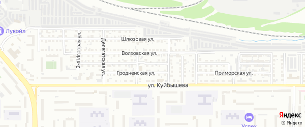 Осташковская 3-я улица на карте Челябинска с номерами домов