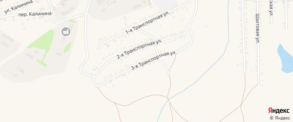 Транспортная 3-я улица на карте Еманжелинска с номерами домов