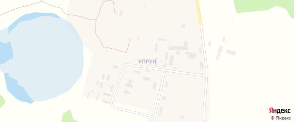 Территория Гарнизон Упрун на карте Увельского поселка с номерами домов
