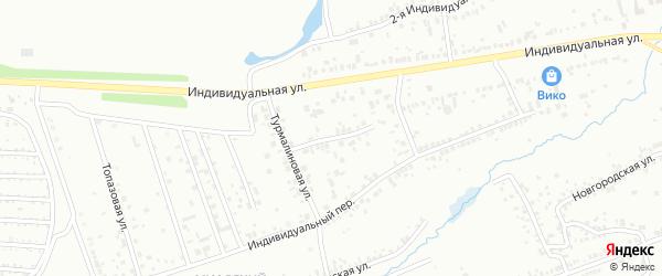 Фианитовая улица на карте Челябинска с номерами домов
