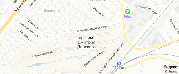 Животноводческая улица на карте Челябинска с номерами домов