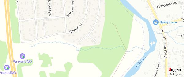 Переулок Пушкина на карте деревни Нового Поля с номерами домов