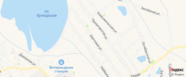 Шахтовая улица на карте Еманжелинска с номерами домов