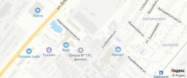 Улица Космодемьянской на карте Челябинска с номерами домов