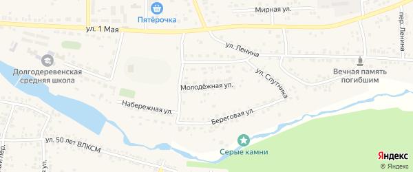 Молодежная улица на карте деревни Шигаево с номерами домов